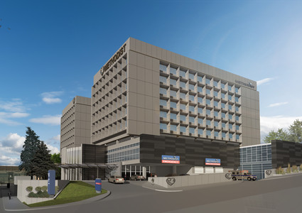 Methodist Hospital, Omaha, emergency room expansion project.