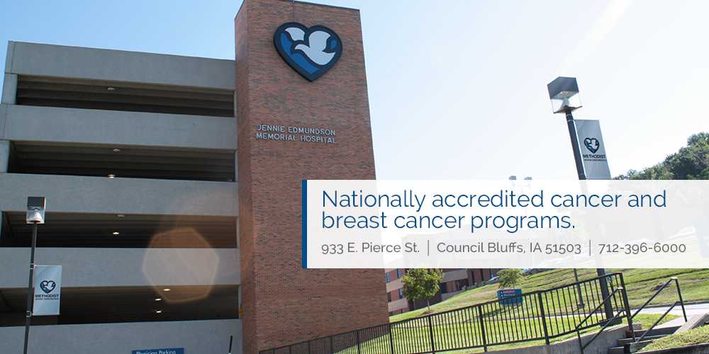 Nationally accredited cancer and breast cancer programs. 933 East Pierce Street, Council Bluffs, Iowa, 51503, 712-396-6000