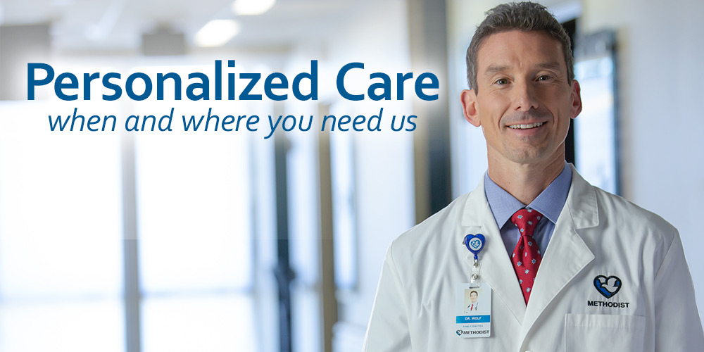 Personalized care when and where you need us.