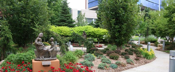 Healing Garden | Methodist Health System