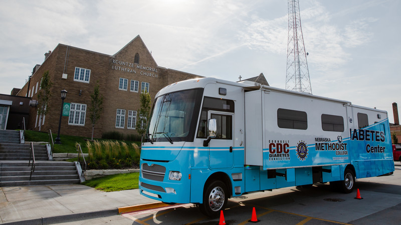 Nebraska Methodist College's Mobile Diabetes Center