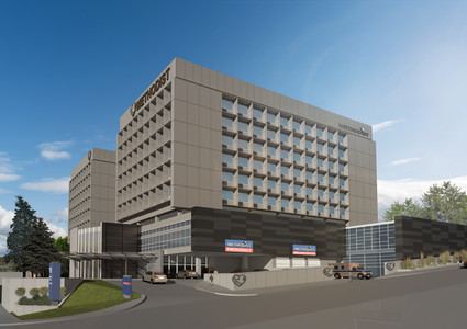 Rendering of the Methodist Hospital Emergency Department expansion.