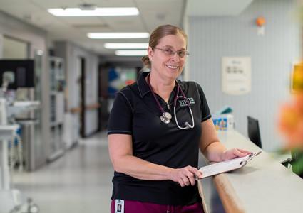 Jill Ferry, PA-C, a physician assistant at Myrtue Medical Center in Harlan, Iowa.