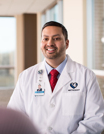 Methodist pulmonologist Sumit Mukherjee, MD