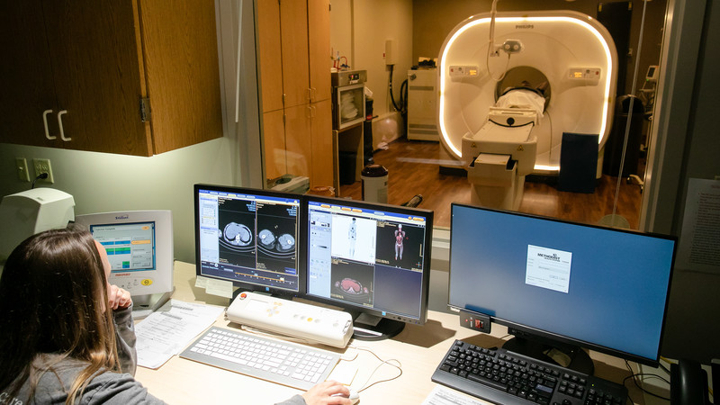 Methodist Hospital installed the region's only digital PET scanner in 2018.