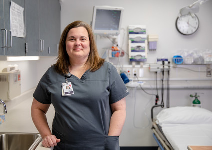 Jennifer Lefeber, BSN, RN, Myrtue Medical Center's emergency room manager