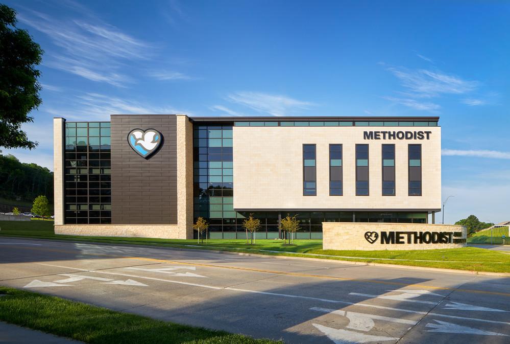 Methodist Jennie Edmundson Medical Plaza in Council Bluffs, Iowa.