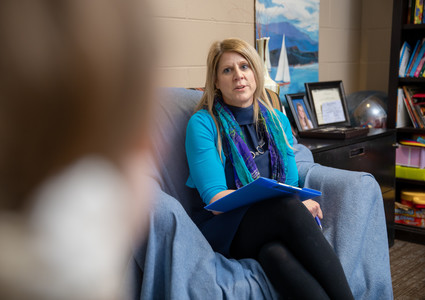 Shelly Taylor, LCSW, LIMHP, is a counselor with the Methodist Hospital Community Counseling Program.