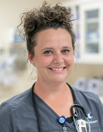 Geriatric resource nurse Jessica Lock, BSN, RN-BC