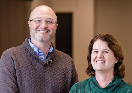 Joshua Dahlke, MD, and Maureen Boyle, MD, at Methodist Physicians Clinic Council Bluffs