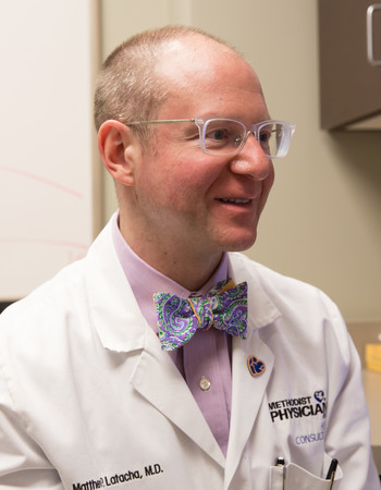 Matthew Latacha, MD, cardiologist/electrophysiologist with Methodist Physicians Clinic Heart Consultants.