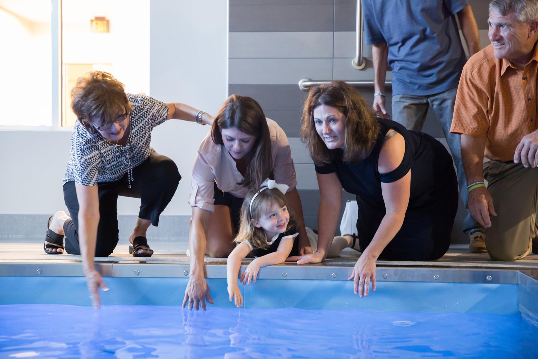 New Aquatic Therapy Pool Dedication Methodist Health