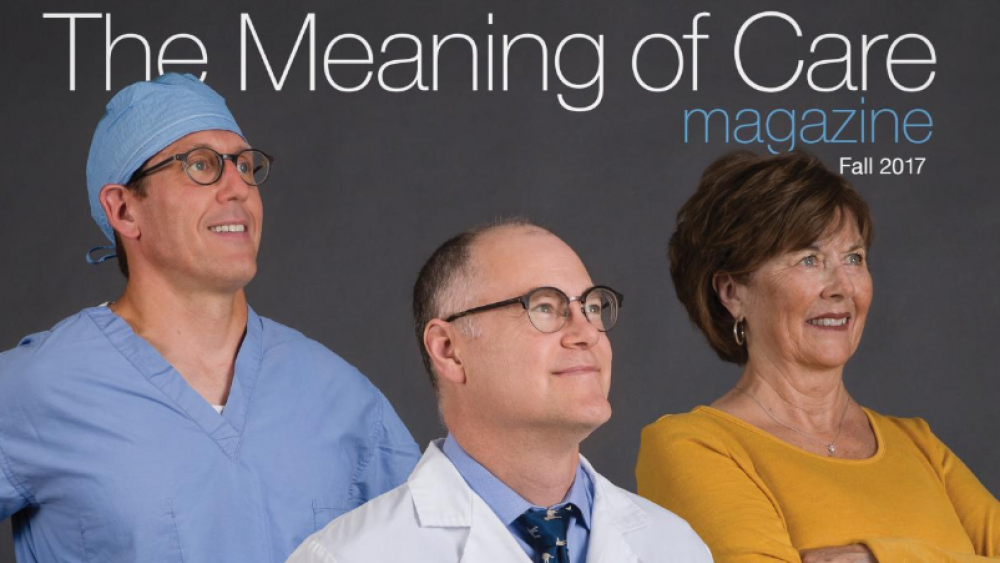 The Meaning Of Care Magazine Cover Fall 2017