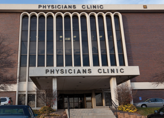 Exterior of Methodist Physicians Clinic Regency in Omaha, Nebraska