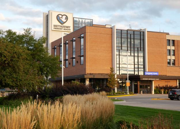 Exterior of Methodist Fremont Health in Fremont, Nebraska