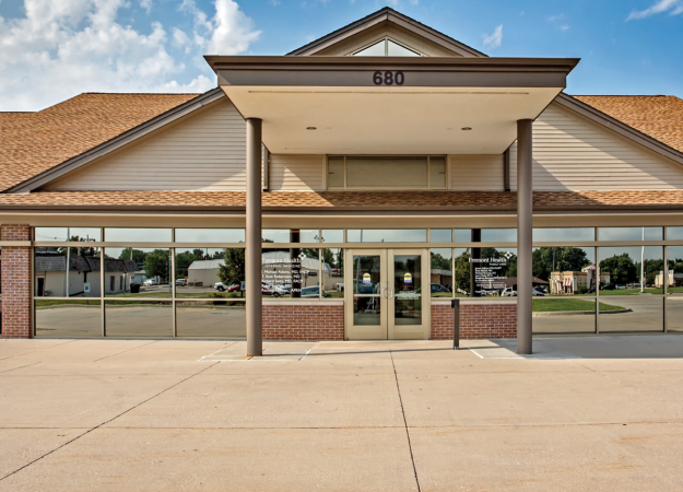Exterior of Methodist Physicians Clinic Family Care and Internal Medicine in Fremont, Nebraska