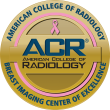 American College of Radiology Breast Imaging Center of Excellence logo