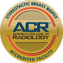 American College of Radiology for Stereotactic Breast Biopsy logo
