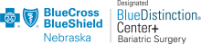Blue Cross and Blue Shield of Nebraska Blue Distinction Center+ logo