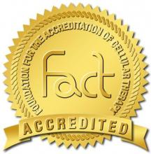 FACT Accreditation Gold Stamp