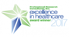 PRC Excellence in Health Care Award Winner Logo