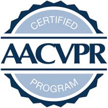 American Association of Cardiovascular and Pulmonary Rehabilitation badge