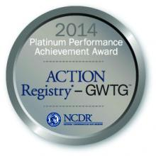 GWTG Platinum Performance Achievement Award logo