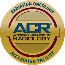 American College of Radiology Accreditation for Radiation Oncology badge