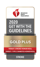 American Heart Association Get With the Guidelines Gold Plus for Stroke logo