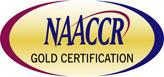 NAACCR Gold Certification logo