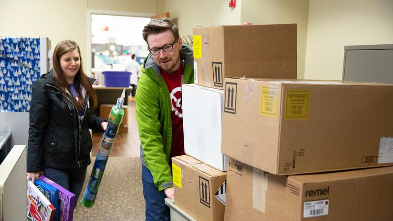 Image for post: Christmas Is for Caring: Methodist Employees Give Back
